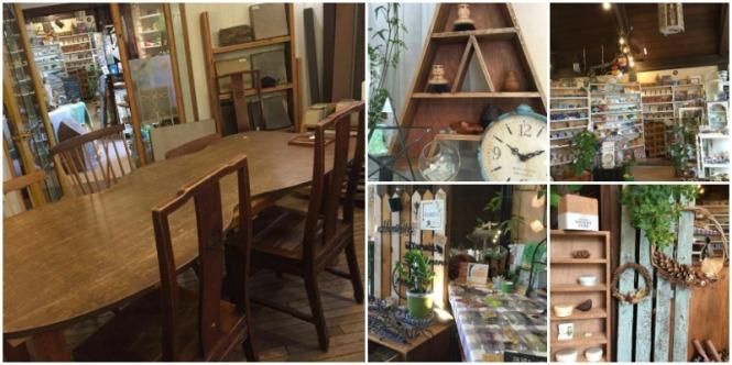 横浜リードあざみ野店の店内 打ち合わせスペースと物販スペース